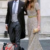 Lapo Elkann con la cucgina fidanzata Bianca Brandolini d'AddaIt