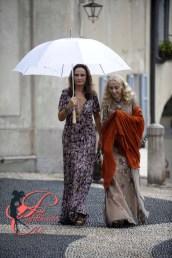 Franca Sozzani e Georgina Brandolini D'Adda