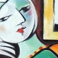 """""""Donna che legge"""" di Picasso"""