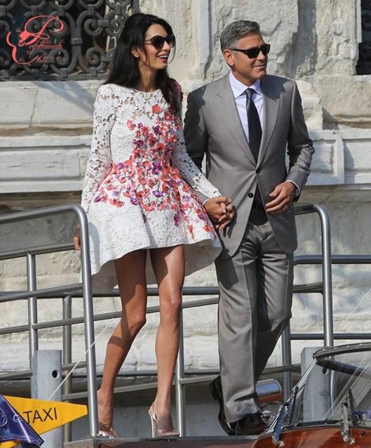 George_Clooney_Amal_Alamuddin_perfettamente_chic_da_sposati