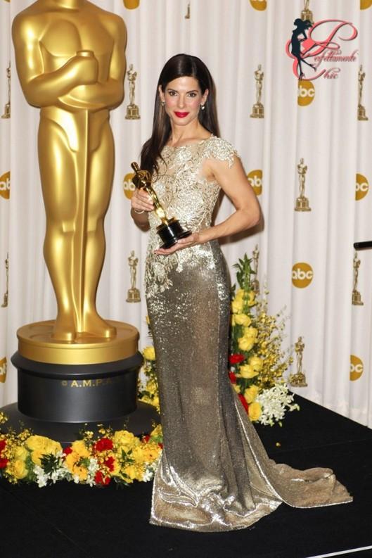 Marchesa_perfettamente_chic_Sandra_Bullock_Academy_Awards_2010